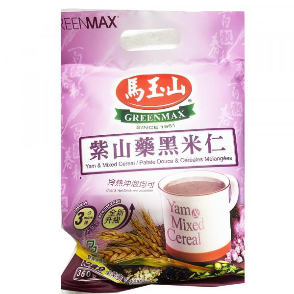 GreenMax Yam&Mix Cereal / 马玉山紫山药黑米仁 - 12*30 g