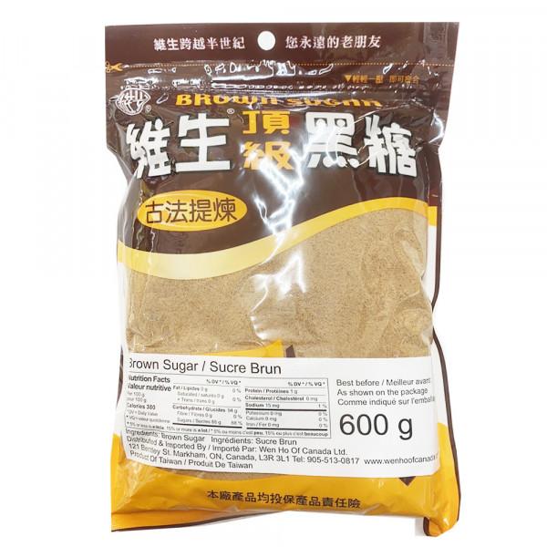Brown Sugar / 维生顶级黑糖 - 600g