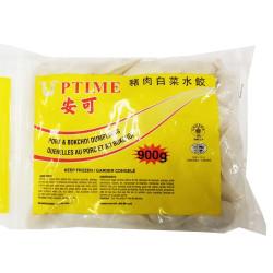 Anke Pork&Bokchoi Dumplings / 安可猪肉白菜水饺 900g