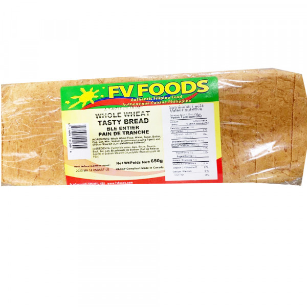 Fv Foods Whole wheat Tasty bread (Ble Entier) / 全麦美味面包(Ble Entier)  - 650g