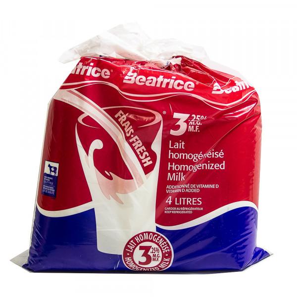 3.25% Beatrice Milk / 牛奶 - 4 L