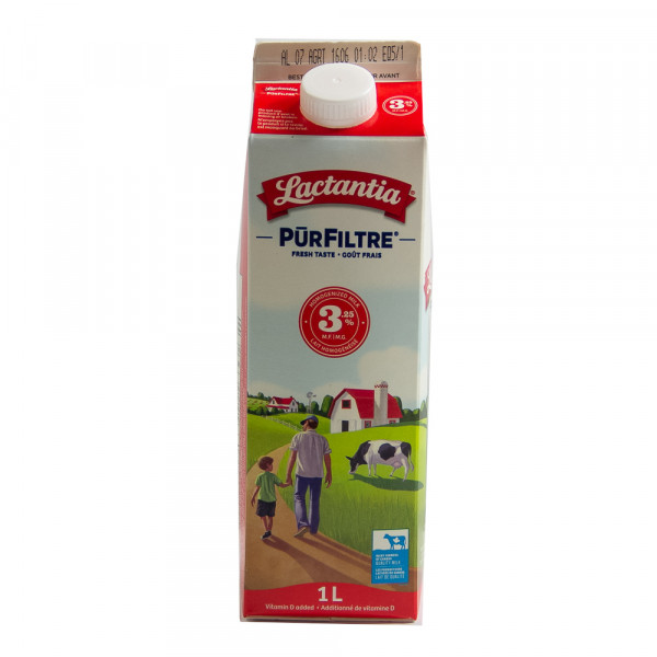 3.25% Lactantia Milk / 牛奶- 1 L