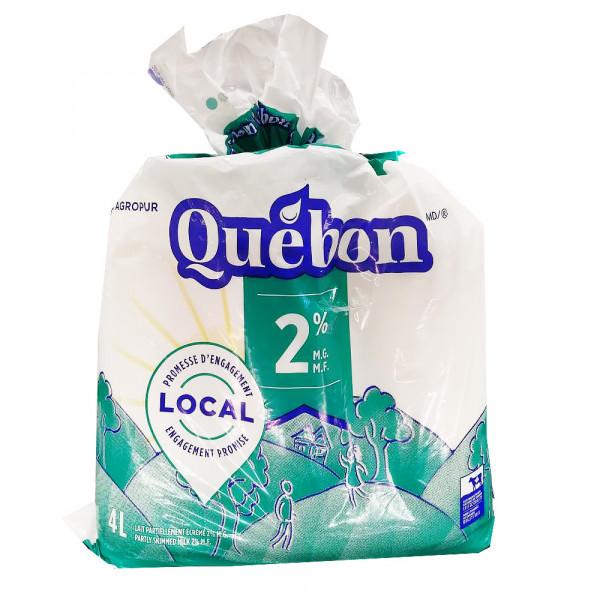 2% Québon Milk/  牛奶 - 4 L
