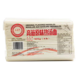 Original Flavoured Noodles / 高筋原味热汤面- 4.0 lbs