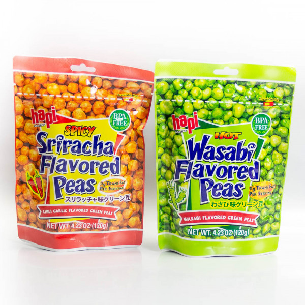 Chili / Garlic Flavoured Green Peas / 日本蒜味/辣味豌豆- 120 g