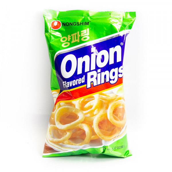 Onion Flavoured Rings / 龙兴洋葱圈- 90 g