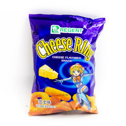 Cheese Ring Flavor Snack / 奶酪圈   60g