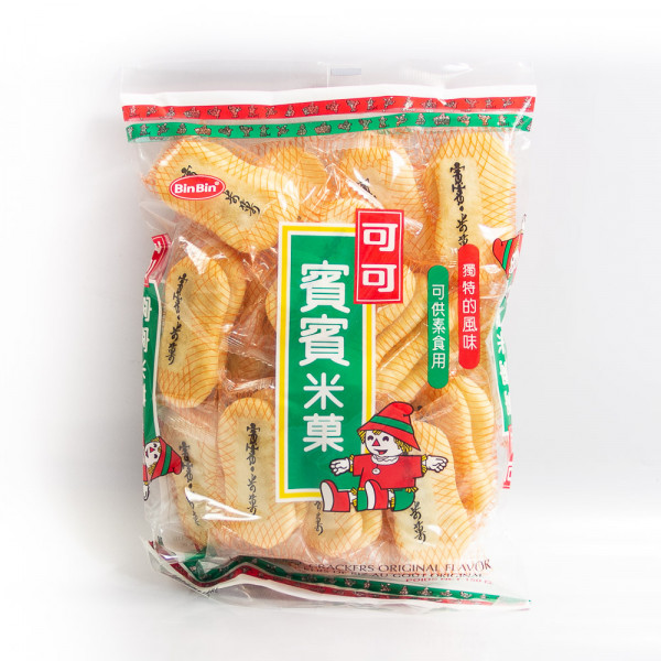 Bin-Bin Rice crackers / 可可宝宝米果  150g
