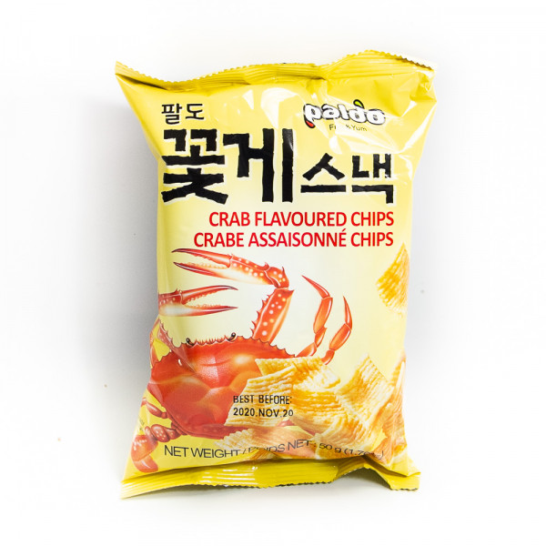Crab Flavored Chips / 蟹味薯片 50g