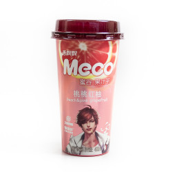 Meco Juice Tea /香飘飘桃桃红柚 - 400 mL