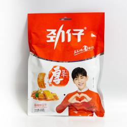 Jinzai Dried tofu chili flavor /劲仔香辣厚豆干 108g