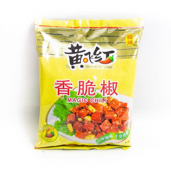 Magic Chili / 黄飞红香脆椒花生 308g