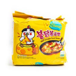 Hot Chicken Flavour Ramen /韩国辣鸡风味拉面 - 700 g