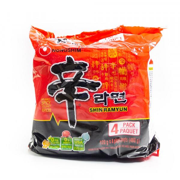 Shin Raymun Spicy Noodles / 辛拉面 - 480 g