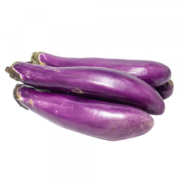 Chinese Eggplant - 4PCs / 长形茄子 - 4个